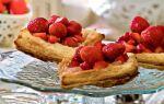 Пирожки с клубникой и творогом из дрожжевого теста