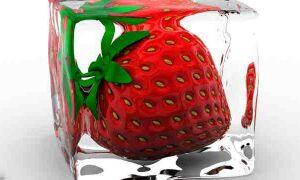 Как разморозить клубнику чтобы сохранить форму