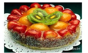 Как карамелизировать клубнику для торта