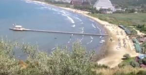 Эгейское море и пляж в Памучак