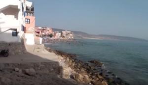 Марокканский городской пляж