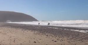 Пляж Лезгира на берегу Атлантического океана