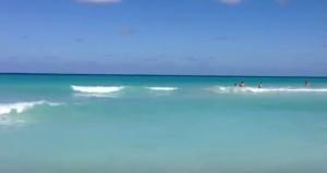 Синее Карибское море - часть Атлантического океана