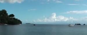 Типичный морской пейзаж в Доминиканской республике