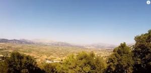 Вид на долины Крита - Греция это не только море и горы