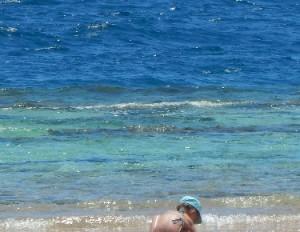 Море в Египте теплое, но солнце коварное