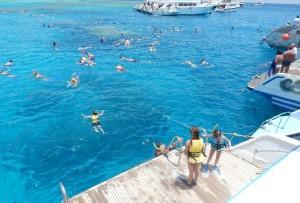 На глубоководном рифе